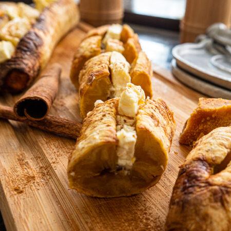 Platanos al horno con queso 1 st.