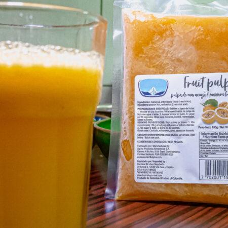 Maracuya drank/Passievrucht fruit pulp
